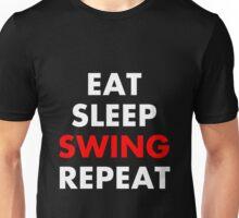 Cesaro - Eat, Sleep, Swing, Repeat Unisex T-Shirt