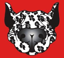 Bull Terrier Leopard Cow Kids Clothes