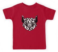 Bull Terrier Leopard Cow Kids Tee