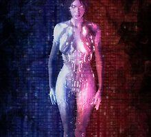Halo 4- Rampant Cortana by NPDesigns