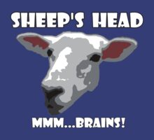 Sheep Head. Mmm...Brains! by KZBlog