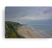 Coast View Northern Ireland Canvas Print