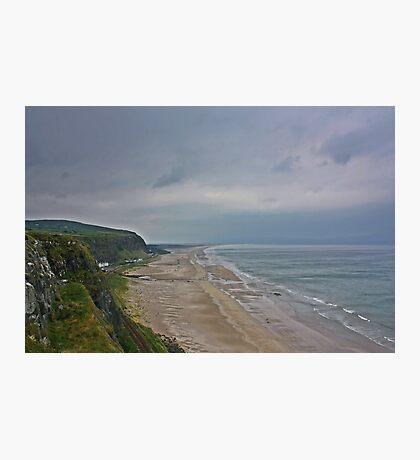 Coast View Northern Ireland Photographic Print
