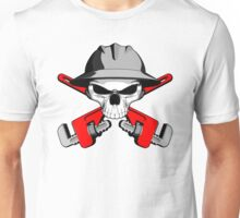 Roughneck Skull and Crossed Wrenches Unisex T-Shirt