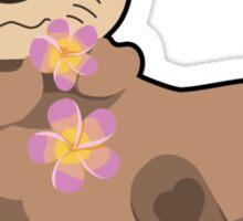 Cutie Otter Sticker