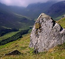 Grisedale, The Lake District by Dave Lawrance