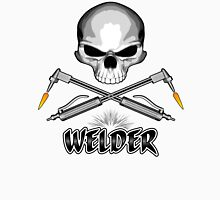 Welder Skull and Crossed Torches Unisex T-Shirt