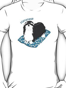 Havanese on a rug T-Shirt
