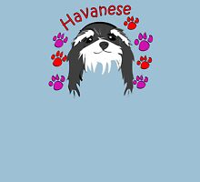 Havanese head Womens Fitted T-Shirt