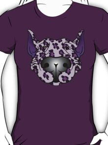Bull Terrier Leopard Pink and Purple T-Shirt