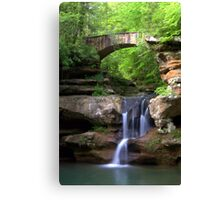 Springtime at Upper Falls Canvas Print