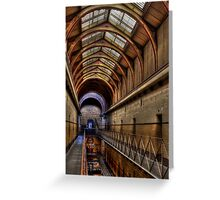 Old Melbourne Gaol #2 Greeting Card