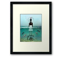 Nothing Is Real... Framed Print