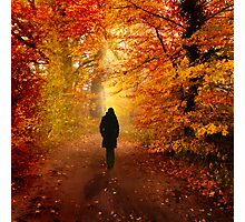 Autumn love Photographic Print