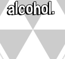 Reality is an illusion that occurs due to lack of alcohol. Sticker
