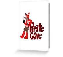 Pirate's Cove! - FNAF Foxy design Greeting Card