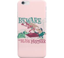 The Blink Panther iPhone Case/Skin