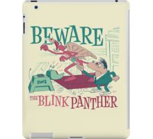 The Blink Panther iPad Case/Skin
