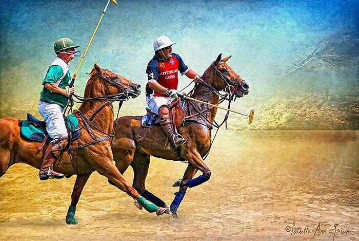 Polo: Quechee vs. Hutchinson Farms by isabelleann