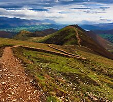 Causey Pike, Keswick, Cumbria. UK by David Lewins