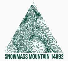 Snowmass Mountain by januarybegan