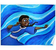 Katara Waterbending Poster