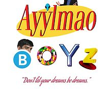 Ayy LMAO Boyz - Official Crew Shirt - Extra Meme Edition by anfantast