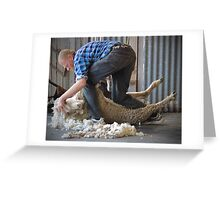 Click Go The Shears! Greeting Card