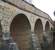 Bridge in Richmond, Tasmania by sparkographic