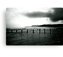 Looking Across Sandsend Wyke. Canvas Print