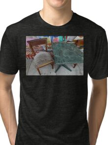 Table For One Tri-blend T-Shirt