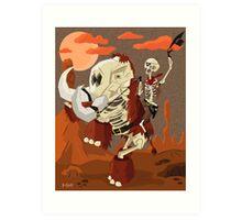 Mammoth Destruction Art Print