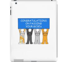 Congratulations on passing your GCSE's iPad Case/Skin