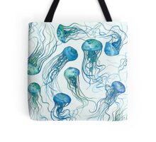 Jellyfish ocean Tote Bag