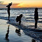 Kids on the Beach  by jodik75