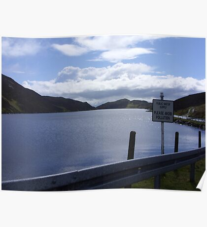 donegal lake Poster