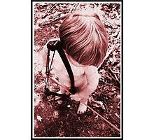 Cupid of the Lover's Wood, coming to steal your heart Photographic Print