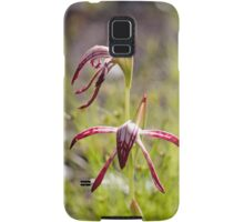 Another Red Beak Orchid Samsung Galaxy Case/Skin