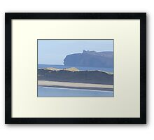 donegal coastline Framed Print
