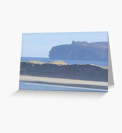 donegal coastline Greeting Card