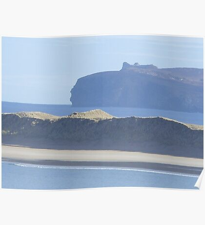 donegal coastline Poster