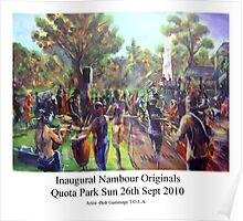 Inaugural Nambour Originals (SOLD) Poster
