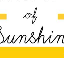 Little Bit of Sunshine Sticker