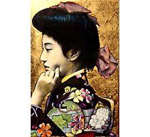 Japanese Geisha: Tehura  Photographic Print