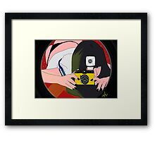 "say ""CHEESE"" ! Framed Print"
