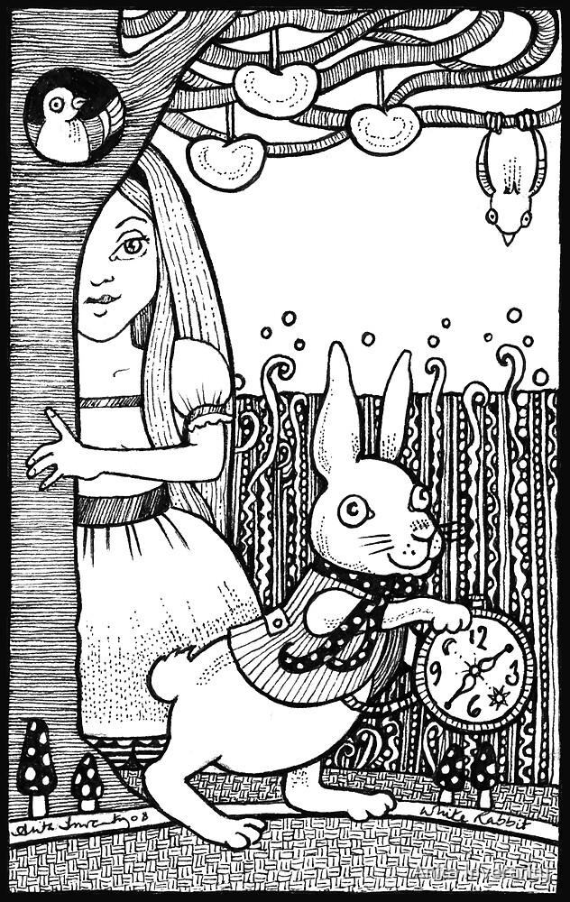 White Rabbit by Anita Inverarity