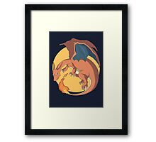The Mighty Charizard Framed Print