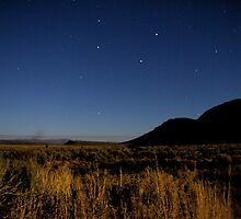 Big Dipper over Hart Mountain by Allan  Erickson