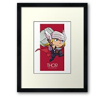Norse God of Thunder Framed Print