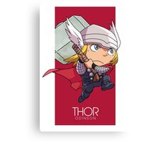 Norse God of Thunder Canvas Print